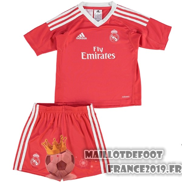 Maillot De Foot adidas Exterieur Ensemble Enfant Gardien Real Madrid 2017-2018 Rouge