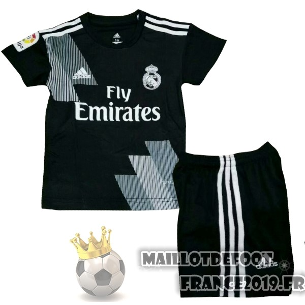Maillot De Foot adidas Third Ensemble Enfant Real Madrid 2018-2019 Noir