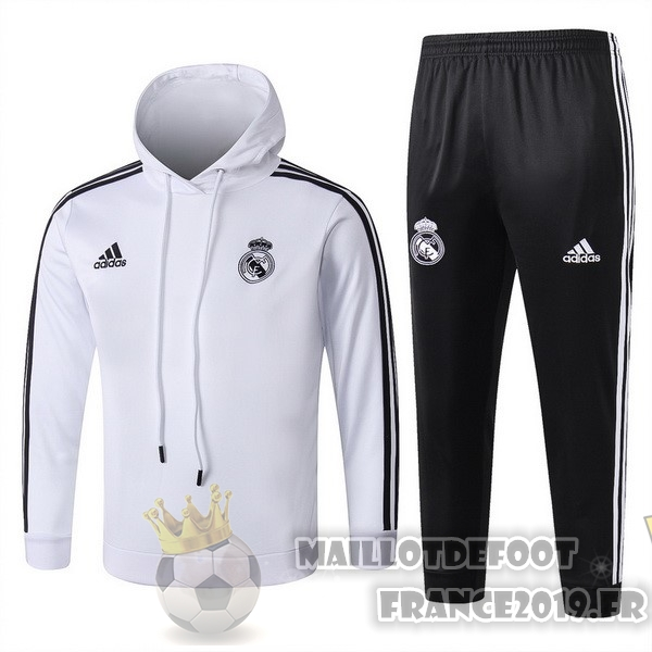 Maillot De Foot adidas De Laine Survêtements Enfant Real Madrid 18-19 Blanc