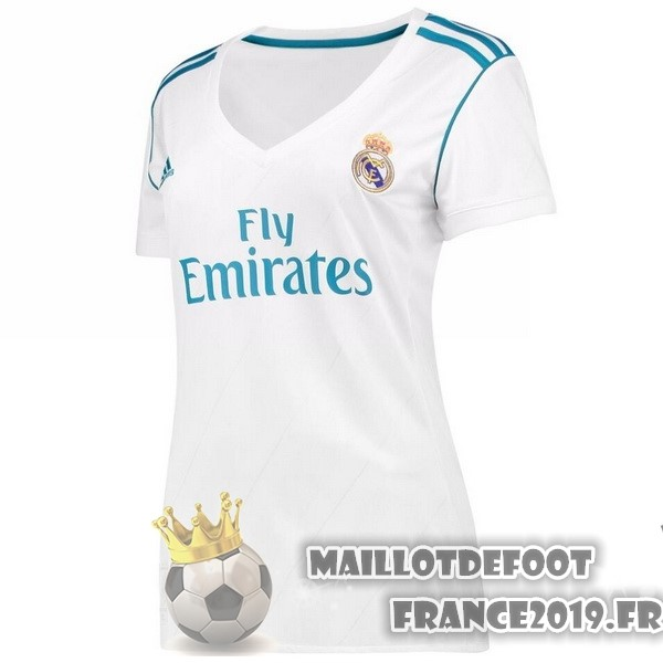 Maillot De Foot adidas Domicile Maillots Femme Real Madrid 2017-2018 Blanc