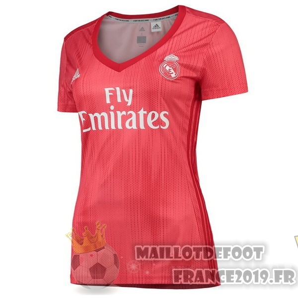 Maillot De Foot adidas Third Maillots Femme Real Madrid 2018-2019 Rouge