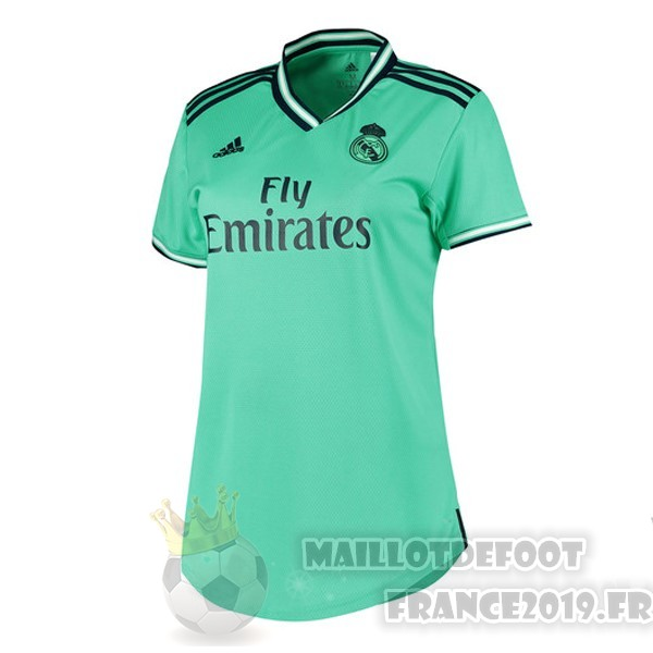 Maillot De Foot adidas Third Maillot Femme Real Madrid 2019 2020 Vert