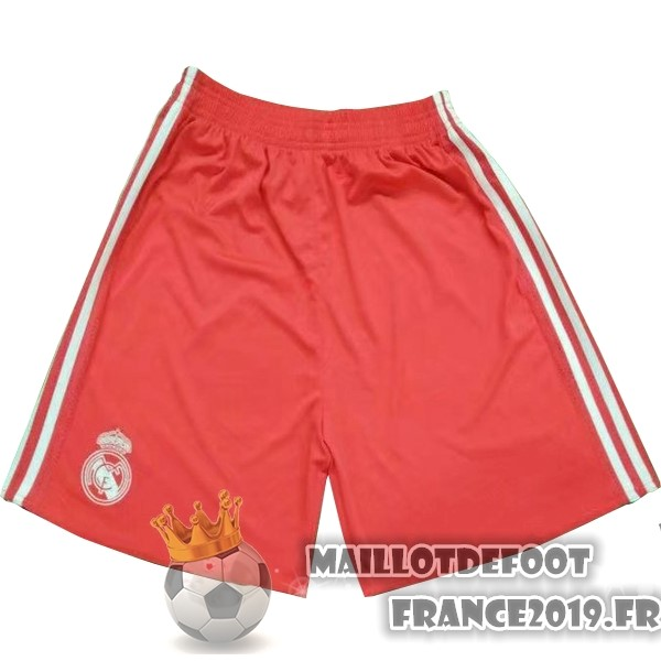 Maillot De Foot adidas Exterieur Gardien Shorts Real Madrid 2017-2018 Rouge