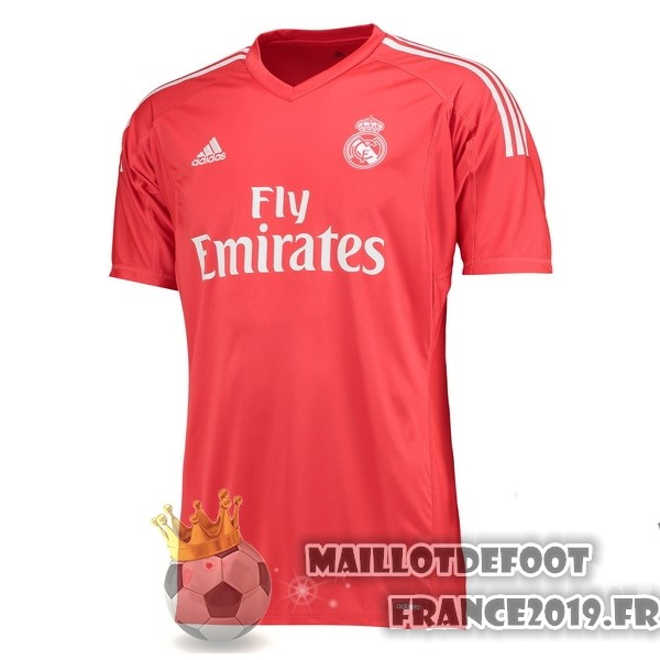 Maillot De Foot adidas Exterieur Maillots Gardien Real Madrid 2017-2018 Rouge
