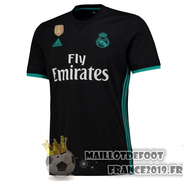 Maillot De Foot adidas Exterieur Maillots Real Madrid 2017-2018 Noir