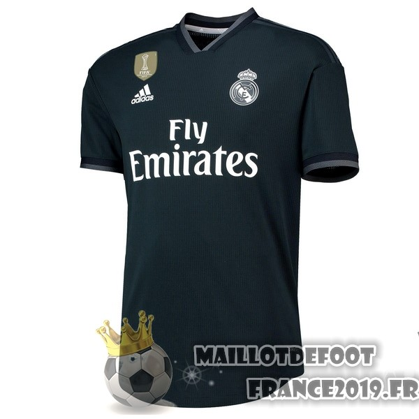 Maillot De Foot adidas Exterieur Maillots Real Madrid 2018-2019 Noir