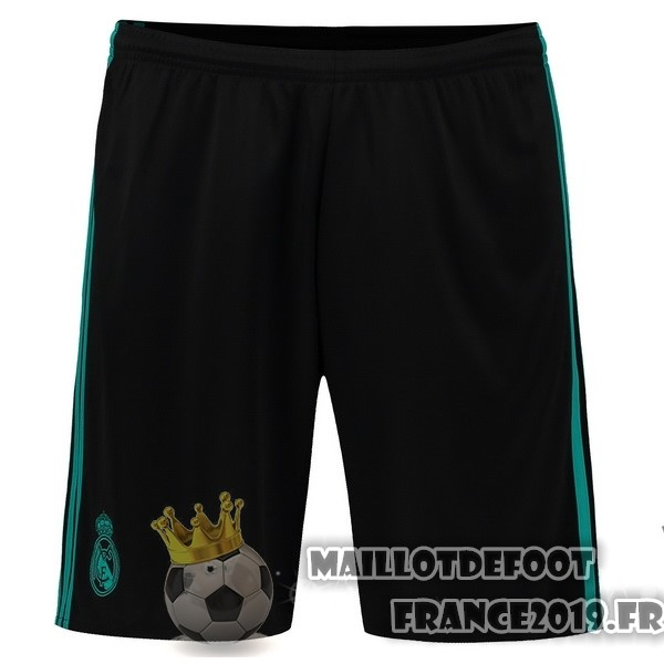 Maillot De Foot adidas Exterieur Shorts Real Madrid 2017-2018 Noir