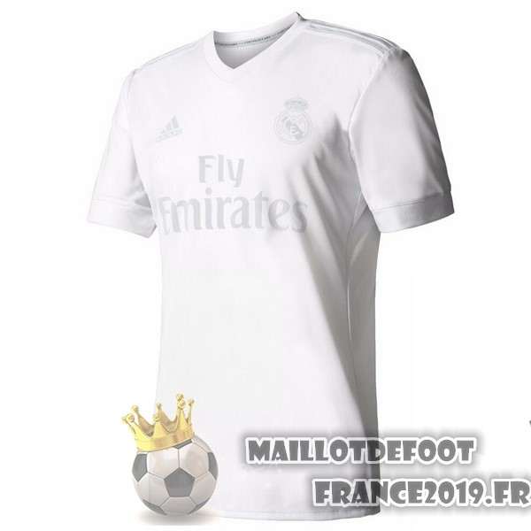 Maillot De Foot adidas Pre Match Maillots Real Madrid 2017-2018 Blanc