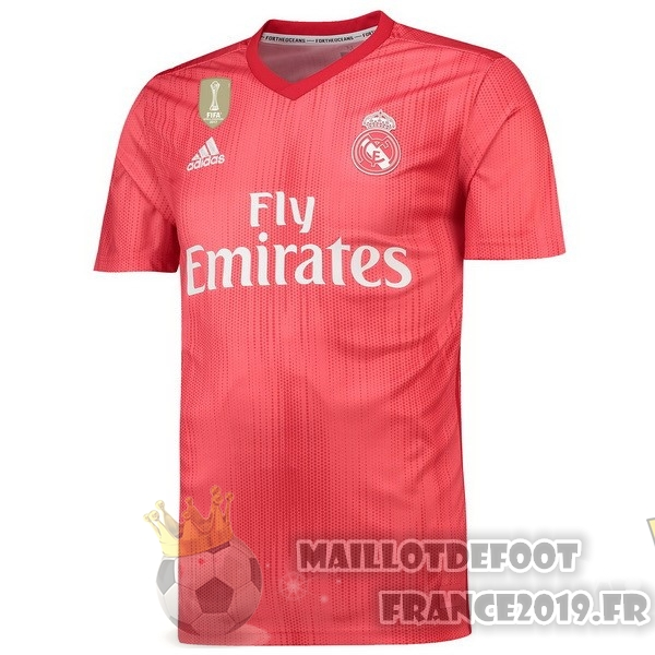 Maillot De Foot adidas Third Maillots Real Madrid 2018-2019 Rouge