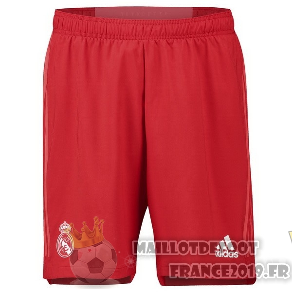 Maillot De Foot adidas Third Shorts Real Madrid 2018-2019 Rouge