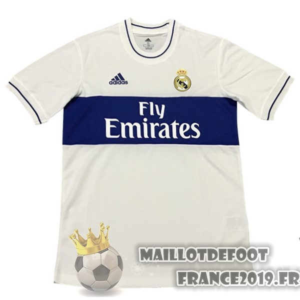 Maillot De Foot adidas Édition commémorative Maillots Real Madrid 2018-2019 Blanc