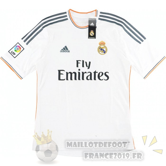 Maillot De Foot adidas Domicile Maillot Real Madrid Retro 2013 2014 Blanc