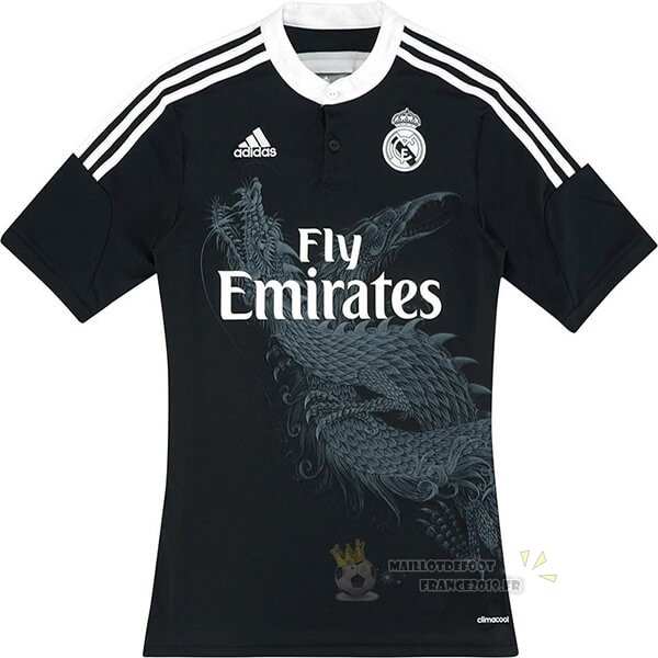 Maillot De Foot adidas Third Maillot Real Madrid Retro 2014 2015 Noir