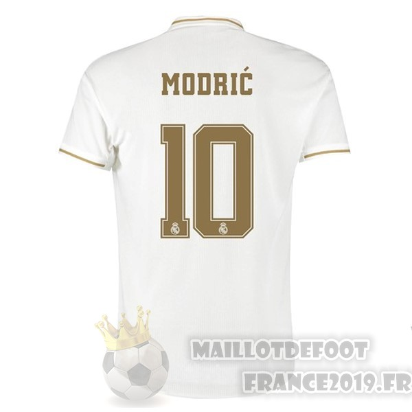 Maillot De Foot adidas NO.10 Modric Domicile Maillot Real Madrid 2019 2020 Blanc