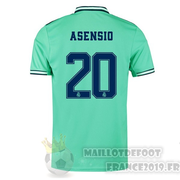 Maillot De Foot adidas NO.20 Asensio Third Maillot Real Madrid 2019 2020 Vert