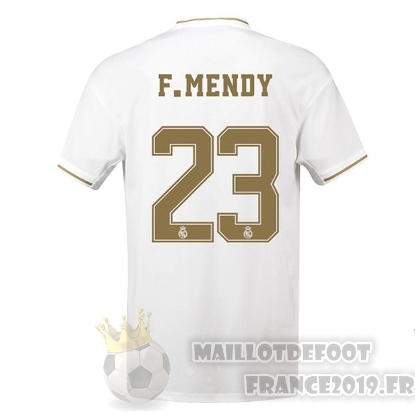 Maillot De Foot adidas NO.23 F.Mendy Domicile Maillot Real Madrid 2019 2020 Blanc