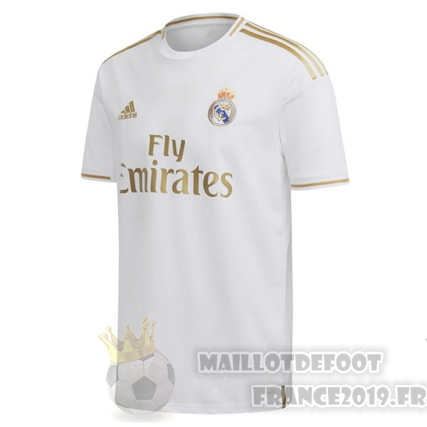 Maillot De Foot adidas Thailande Domicile Maillot Real Madrid 2019 2020 Blanc