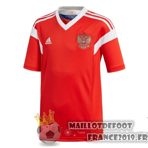 Maillot De Foot adidas Domicile Maillots Russie 2018 Rouge