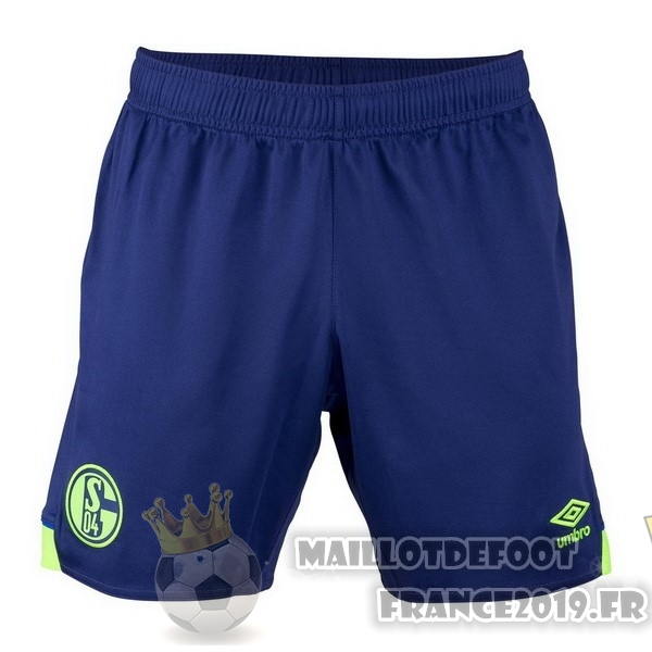 Maillot De Foot umbro Third Shorts Schalke 04 2018-2019 Bleu