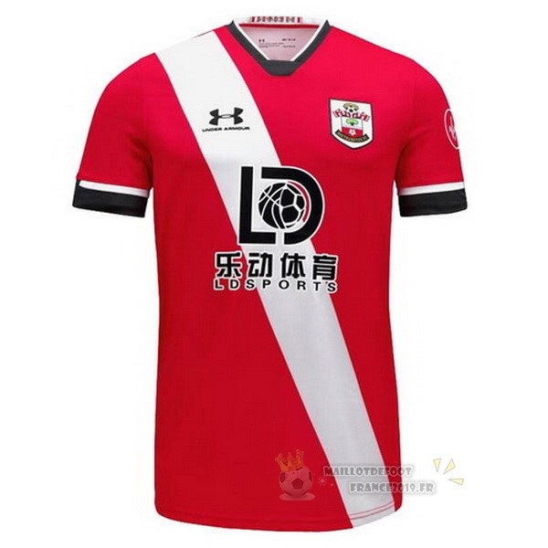Maillot De Foot Under Armour Domicile Maillot Southampton 2020 2021 Rouge Blanc