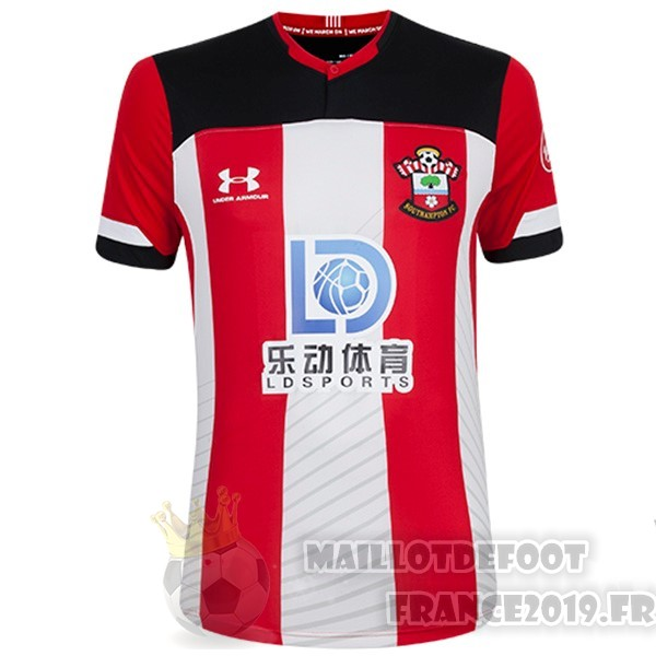 Maillot De Foot Under Armour Domicile Maillot Southampton 2019 2020 Rouge Blanc