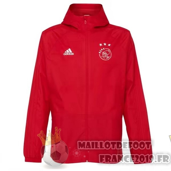 Maillot De Foot adidas Coupe Vent Ajax 2018-2019 Rouge