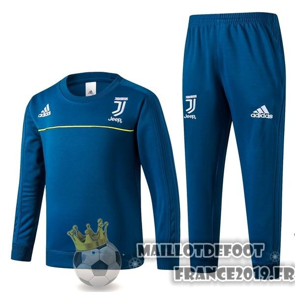 Maillot 2018 2017 Survêtements Enfant Foot Juventus De Adidas Bleu jAqcRL435S