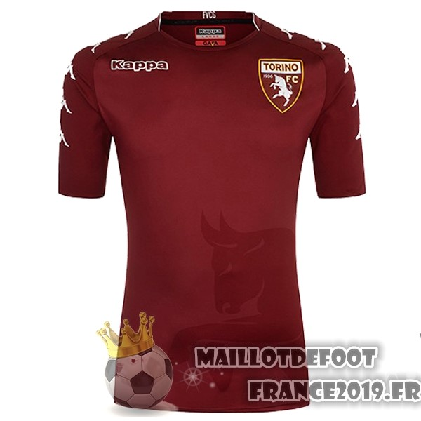 Maillot De Foot Kappa Domicile Maillots Torino 2017-2018 Rouge