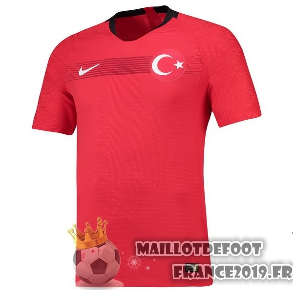 Maillot De Foot Nike Domicile Maillots Turquie 2018 Rouge