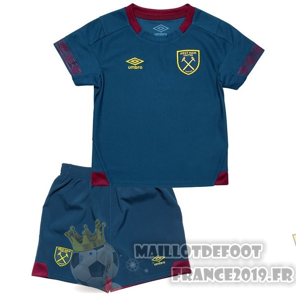 Maillot De Foot umbro Exterieur Ensemble Enfant West Ham United 2018-2019 Bleu