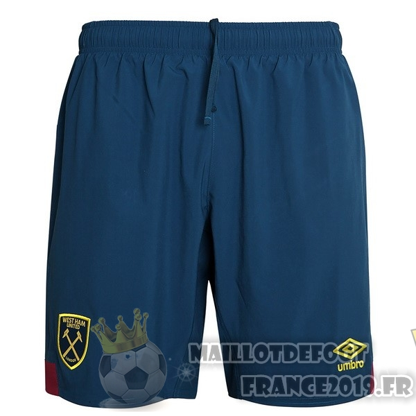 Maillot De Foot umbro Exterieur Shorts West Ham United 2018-2019 Bleu