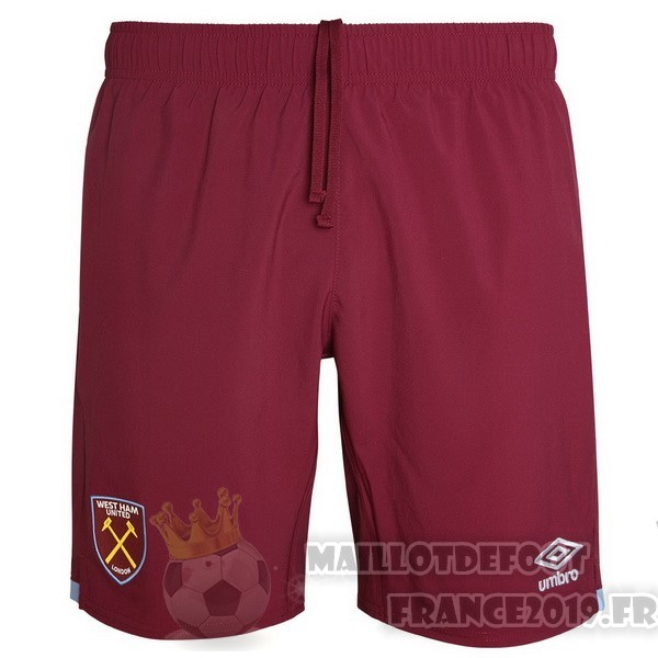 Maillot De Foot Umbro Domicile Pantalon West Ham United 2019 2020 Rouge